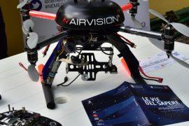 Drone per la geomatica - Archivio Università di Firenze - Riproduzione riservata