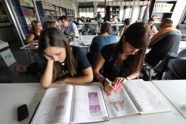 Studenti a medicina, foto