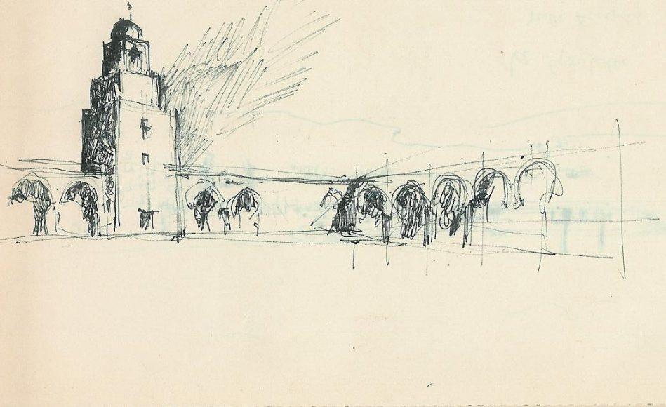 Roberto Berardi, La grande Moschea (© Archivio Privato)