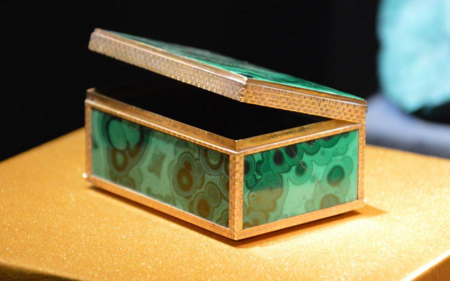 Tabacchiera in malachite: forse un dono per le nozze del Granduca Pietro Leopoldo di Lorena - riproduzione riservata