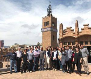 foto - Il gruppo dei partecipanti al progetto europeo Inspires