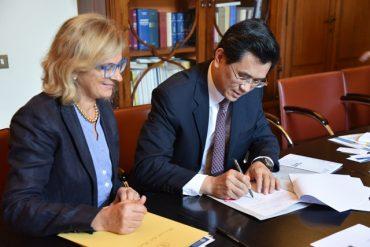 foto Accordo università cinese di Jinan