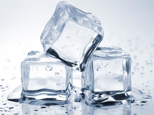 ghiaccio che si scioglie
