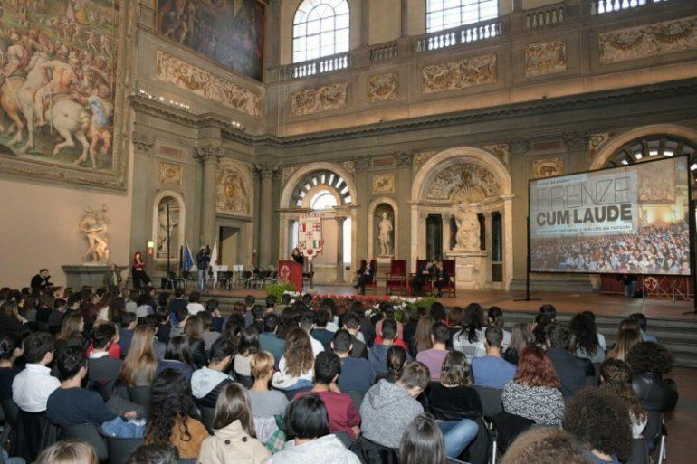 Foto - Palazzo Vecchio, 24 ottobre 2017 - Firenze cum laude, il benvenuto alle matricole - riproduzione riservata