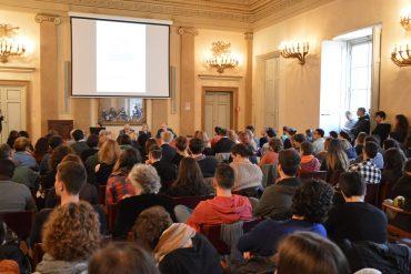 Palazzo Fenzi - Un momento dell'incontro con il vice ministro Mario Giro