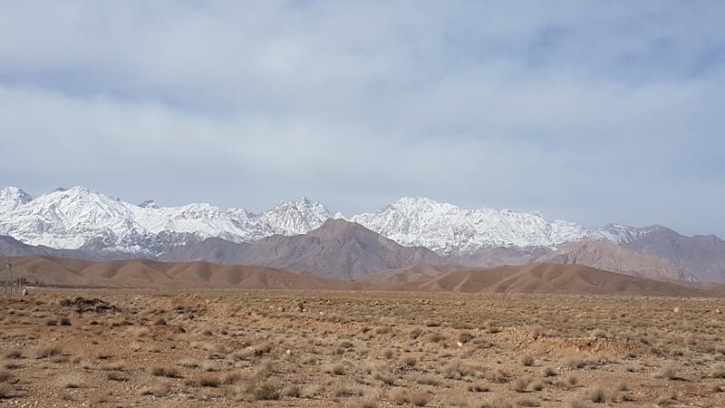 Rilievi montuosi a sud-ovest di Mahan