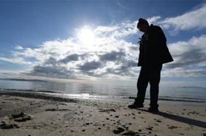 immagine di Roberto Mari sulle spiagge della Maremma