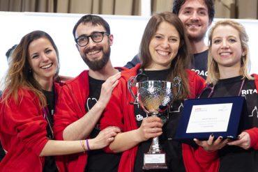 Il team Unifi alla SIMCUP 2018