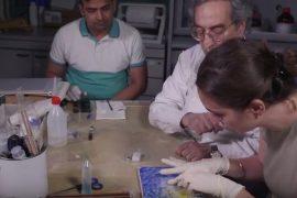 gruppo di lavoro sul gel per restauro
