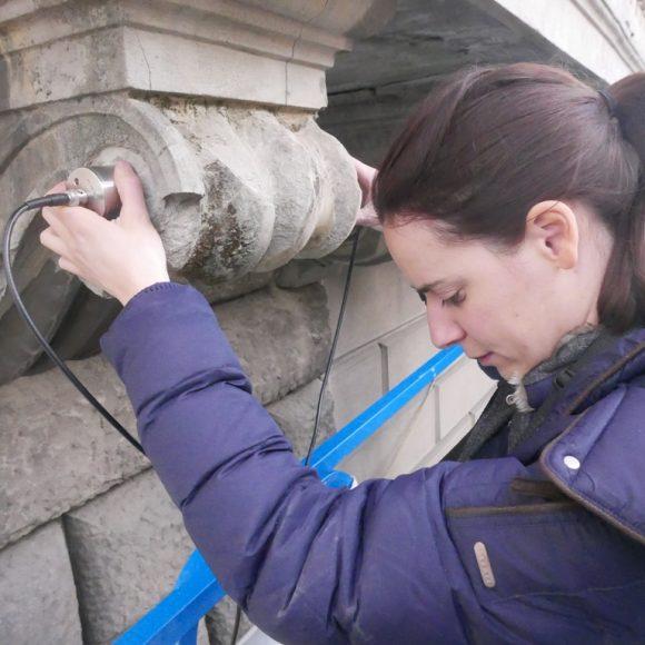 Misure ultrasoniche a Palazzo Corsini al Prato