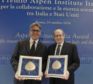 Luca Bindi e Paul Steinhardt