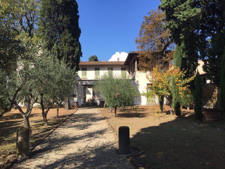 Villa Galileo, esterno. Foto archivio Fondazione CR Firenze, riproduzione riservata