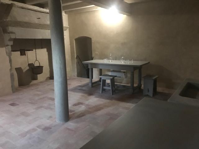 Villa Galileo, cantina. Foto archivio Fondazione CR Firenze, riproduzione riservata