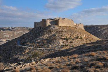 Castello di Shawbak in Giordania