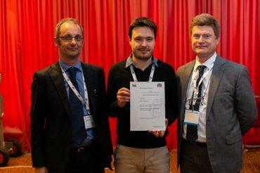 Marco Buracchi, al centro, fra Ferdinando Lamagna (BSI) a sinistra, e Claudio Telmon (CLUSIT) a destra