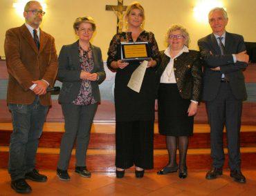 Da sinistra, Massimiliano Fiorucci, Simonetta Polenghi, Maria Rita Mancaniello, Simonetta Ulivieri e Giuseppe Elia