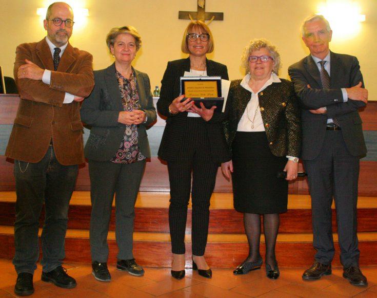Da sinistra, Massimiliano Fiorucci, Simonetta Polenghi, Francesca Dello Preite, Simonetta Ulivieri e Giuseppe Elia