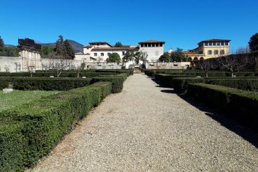 Veduta esterna di Villa La Quiete