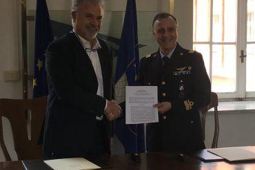 da sinistra, Stefano Bertocci e Vincenzo Nuzzo