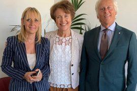 Maria Paola Monaco, Patrizia Giunti e Leonardo Focardi