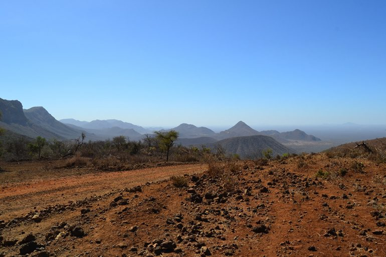Ririba Rift - campo di coni vulcanici