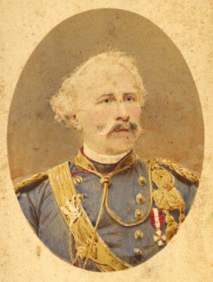 Adolfo de Bérenger (1815 - 1895) primo Direttore dell'Istituto Forestale di Vallombrosa, dal 1869 al 1877. (Foto resa disponibile da Duccio Baldassini)