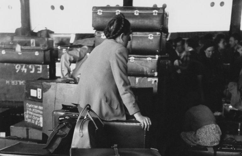 Ellis Island Arrivals, foto di Ernst Haas, Getty Images copyright