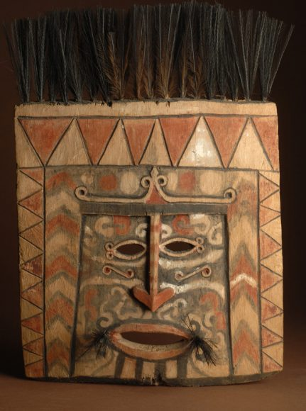 maschera rituale Nuova Guinea