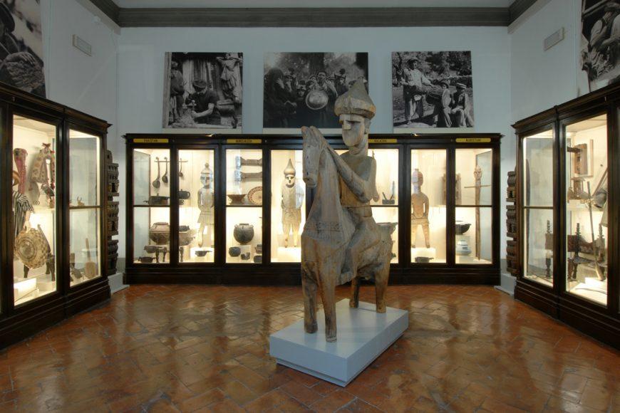 una sala del Museo di Antropologia