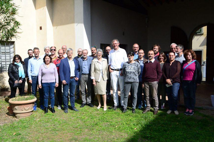 Il team del progetto del coronografo Metis a Firenze nel settembre 2017
