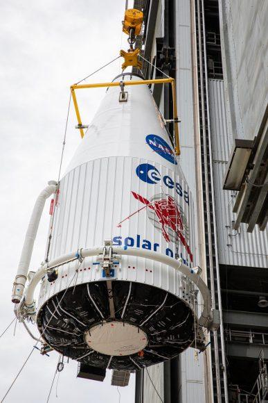 La sonda Solar Orbiter nelle fasi di preparazione del lancio