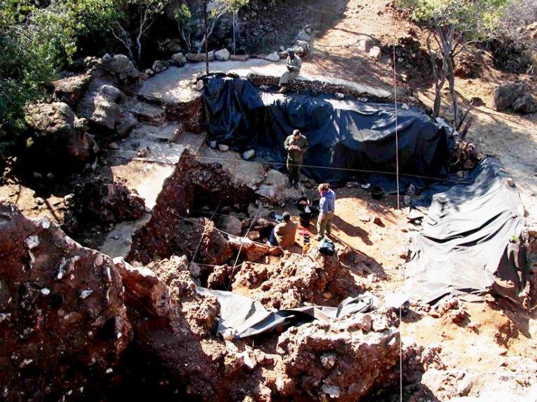 Scavi di Drimolen - Sudafrica