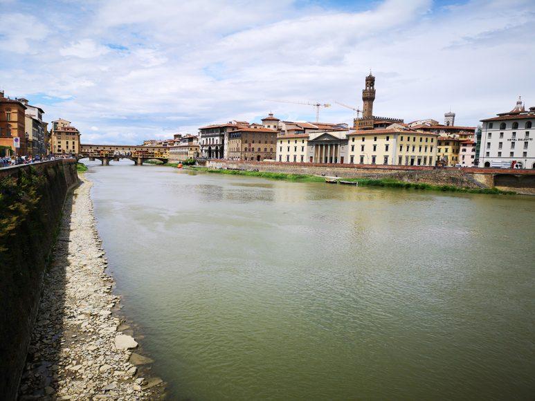 Veduta dell'Arno - Foto Phillip J. Haubrock - riproduzione riservata