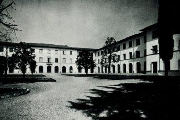Il complesso di Santa Marta in una foto d'epoca