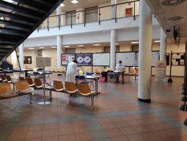 Foto - I test sierologici sono stati svolti presso il campus delle Scienze sociali a Novoli