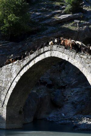 Il Ponte Katiu a Benje