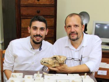 Saverio Bartolini Lucenti e Lorenzo Rook Vulpes Rooki
