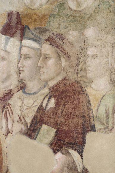 Firenze, Palazzo del Podestà Bargello, Cappella della Maddalena, Ritratto di Dante