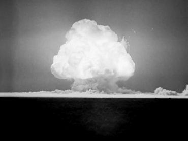 fungo nucleare, foto di Los Alamos National Laboratory Library