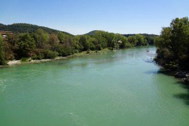 Il fiume Tevere presso Magliano Sabina