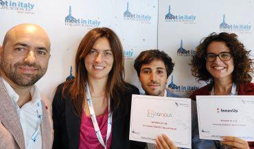 da sinistra Gianmaria Mancioppi, Erika Rovini, Filippo Cavallo, Laura Fiorini CoAImed